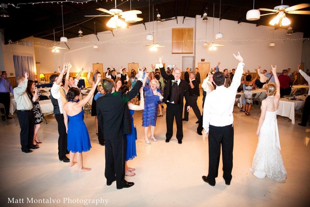 Austin Wedding DJ - Horns up